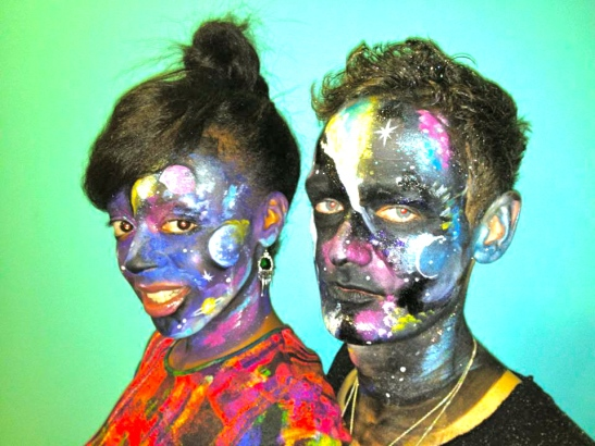 Desreen and I taking on the universe for Halloween 2012