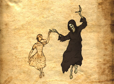 Artwork from the incredible novel The Book Thief by Markus Zusak