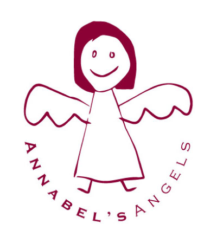 The Annabel's Angels logo was designed by Annabel and Simon's eight-year-old son