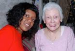 Dessie and Grandma, Christmas 2011