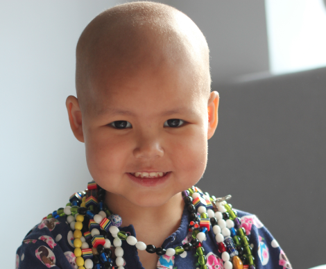 Vega was diagnosed with acute lymphoblastic leukaemia in January 2012. She is still on treatment until June 2014 but is doing well right now.