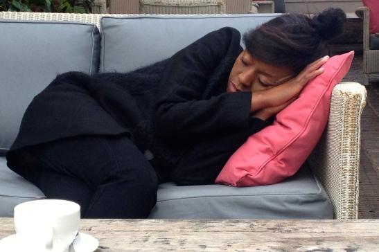 33, a birthday nap at Shoreditch House.