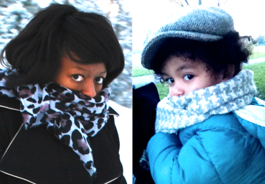I took the picture of my wife on the left at Christmas in 2010 and the picture on the right of our son today. It's so strange to see those same eyes looking back at me but so beautiful at the same time.