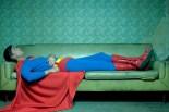 superman tidur pakai spender